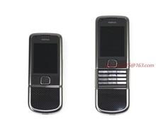 Восстановленный Оригинальный NOKIA 8800 Carbon Arte 4 Гб ROM 8800CA мобильный телефон GSM разблокированная и русская клавиатура