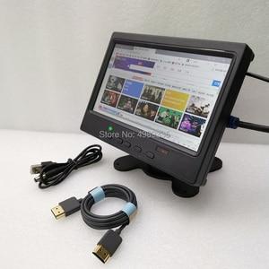 Image 4 - 7 אינץ צג תצוגת אות מבחן מסך HDMI PS4 פטל Pi פיזי רזולוציה 1024x600ips