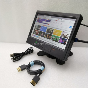 Image 4 - 7 inch monitor display signal test screen HDMI PS4 Raspberry Pi physical resolution 1024x600ips