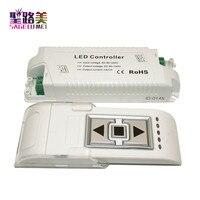 משלוח חינם AC110V/220 V עמעום בהירות בקר LED דימר עם שלט RF אלחוטי מתג ערוץ 1 עבור LED אורות הנורה