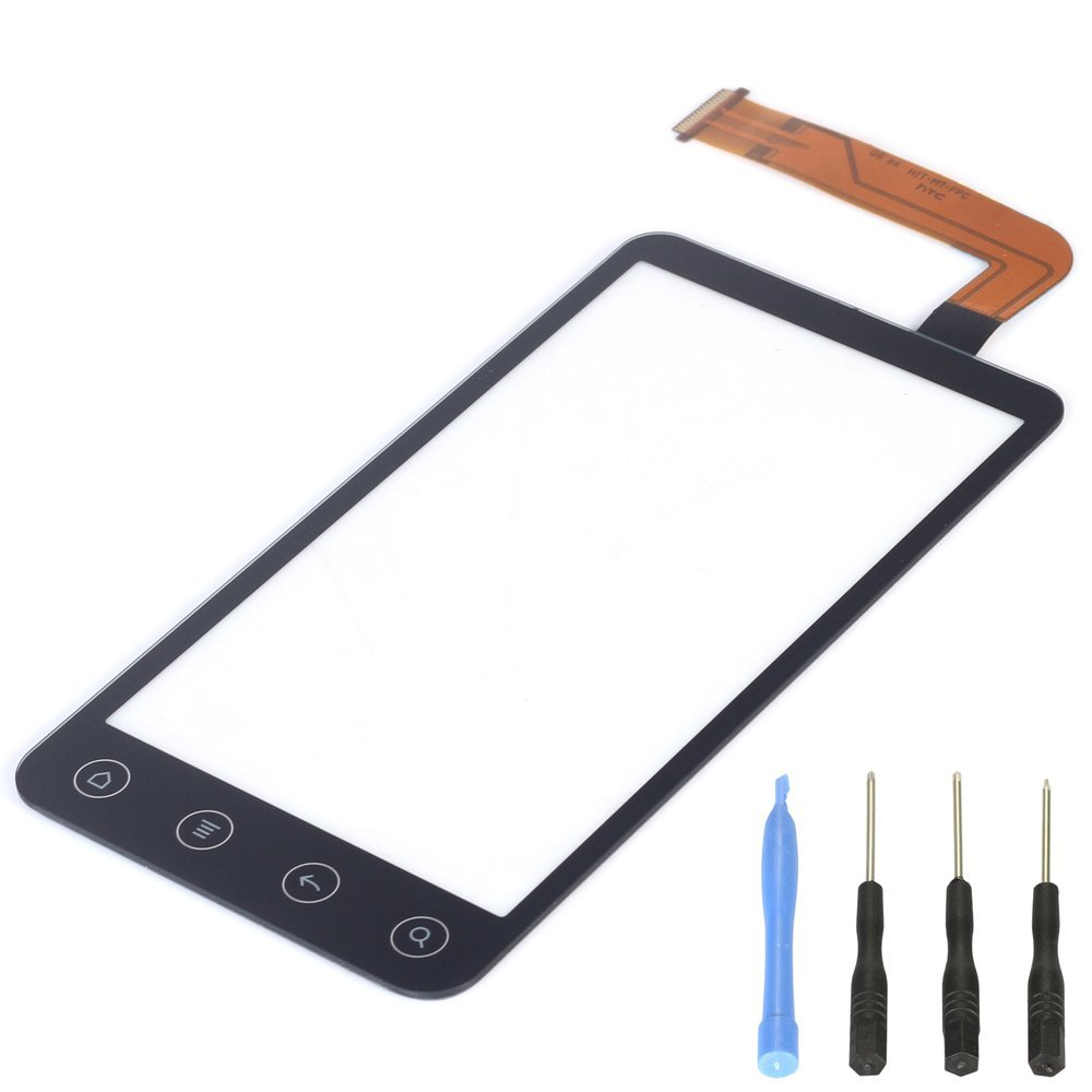 For HTC Evo 3D Sprint X515M G17 Touch Screen Digitizer Front Glass Panel Free Shipping
