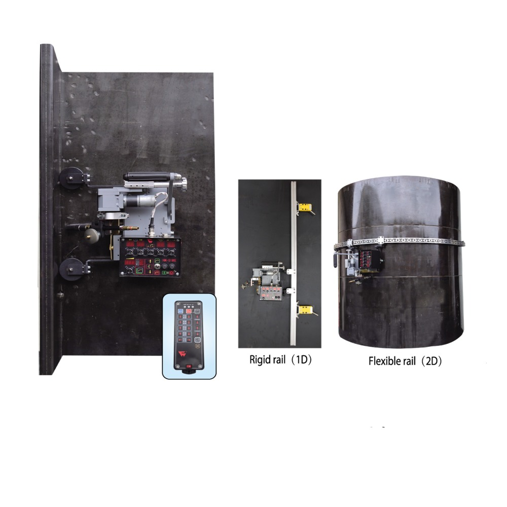 Hk 51we Remote Control Oscillating Vertical Fillet Welding Carriage Mig Welders Aliexpress