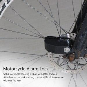 100 дБ мотоциклетная сигнализация замок для мотоцикла Противоугонная сигнализация колесо дисковый тормоз Безопасность Сирена замок для Harley для YAMAHA