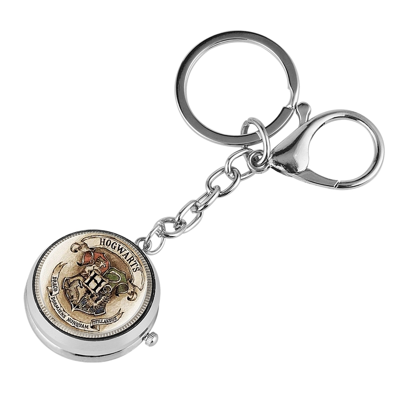 Keychain Watch Potter The Little Prince G Masonic Theme Quartz Hanging Watch Charms Key Chains Jewelry Bag Key Holder Gift