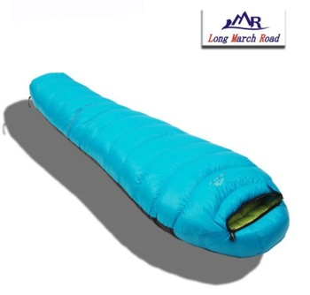 LMR Mummy 1200g/1500g/1800g/2000g Goose Down Winter Spring Outdoor Ultralight Travel Cycling Mountaineering Camping Sleeping Bag