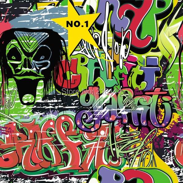 152cm*50cm 3M DIY JDM Devil Doodle Stickers and Car Vinyl