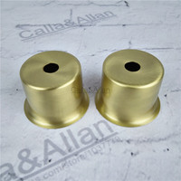M10 Small 6 Sizes Brass Material Socket Cover Copper Base Cup Hot Selling High Quality E27