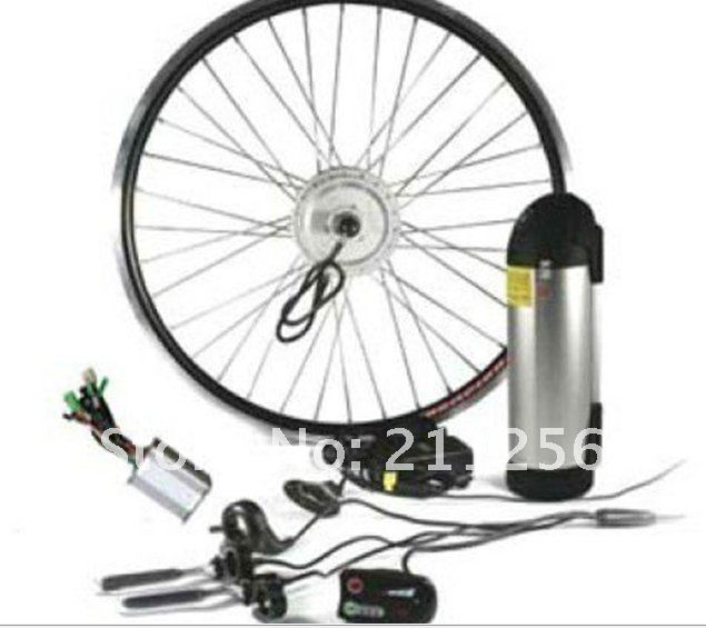 Electric Bicycle Motor Kit With Battery In India: Ebike Rear/front Hub Geared Motor Kits 24V 250W Electric