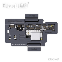QIANLI iSocket for iPhone x xs / xs max motherboard test fixture For IPHONEX double deck motherboard Function Tester