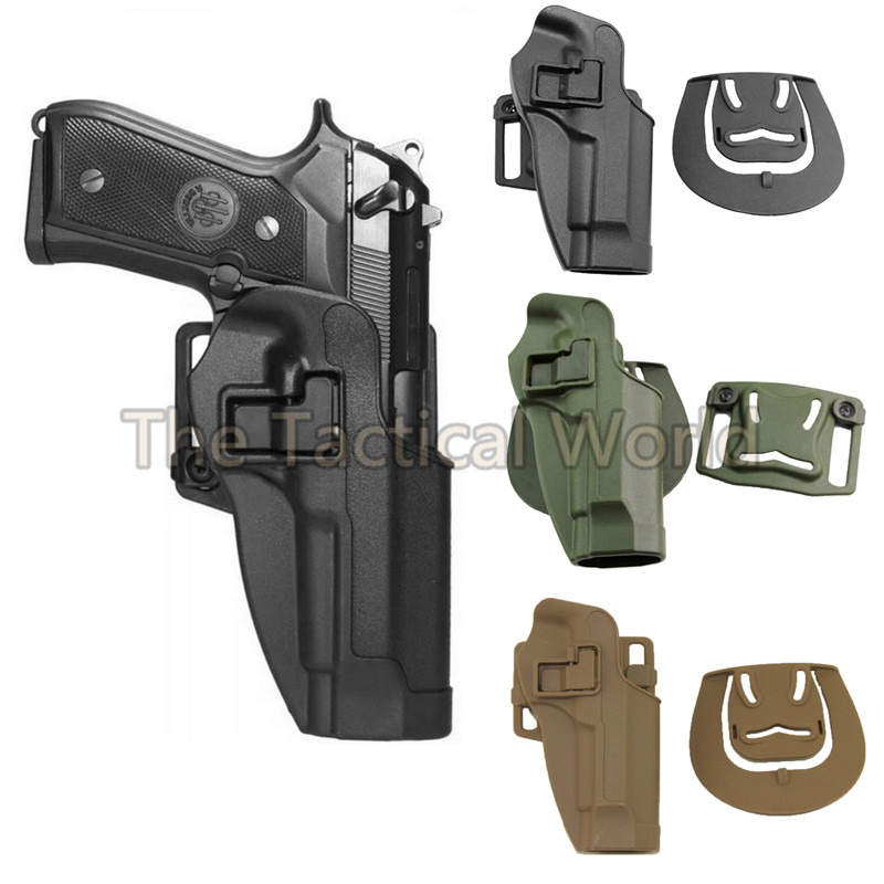 Tactical Holster for beretta M9 92 96 For Military Airsoft Hunting Accessories Pistol Holsters Waist Paddle Belt Holster |holster cqc|tactical holster|holster tactical - title=