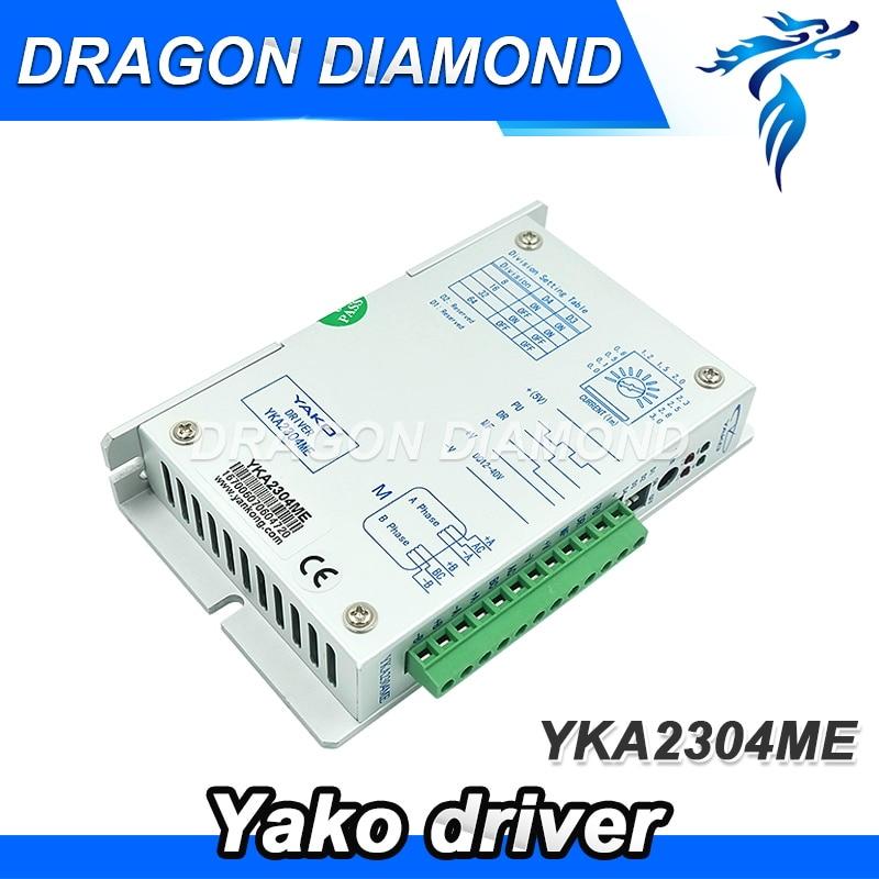 ORIGINAL YAKO Brand Stepper Motor Driver YKA2304ME CNC Router Motor Driver dc stepper motor driver yako brand ykb2608mg h for cnc router