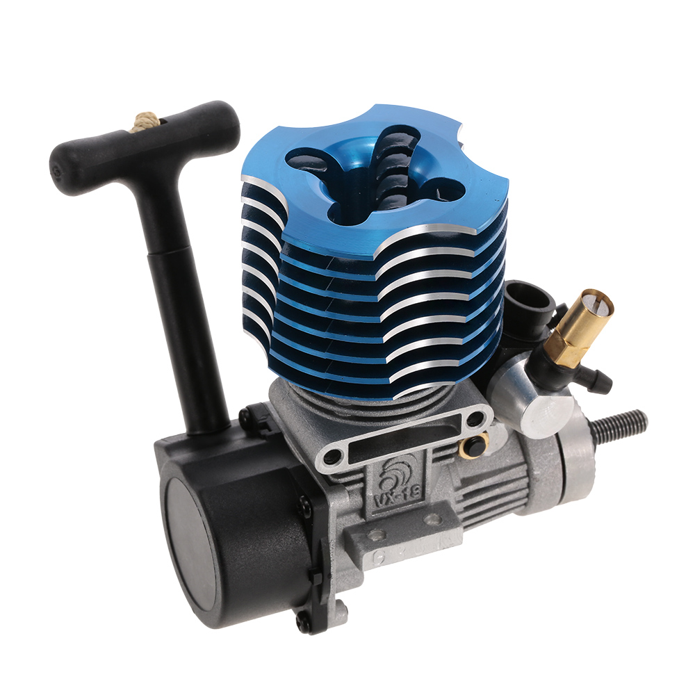 RC Car VX 18 Pull Starter Engine Fire Head for 1/10 HSP HPI Redcat Nitro Car Off-Road Buggy Monster Truck On-Road Racing Car engine blue for hsp 02060 rc 1 10 1 8 on road car buggy truck original part