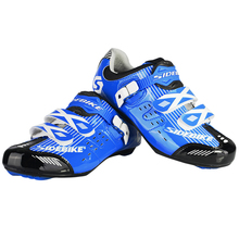 Breathable Athletic Cycling Shoes Road Bike Bicycle Shoes Nylon+TPU Soles for Road Racing MTB cycling shoes