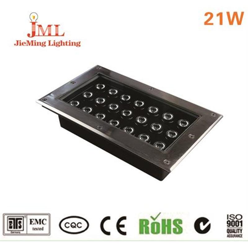 Outdoor Lamps 21W 110V 220V 85 265V Landscape Underground Light Square Material New Style IP67