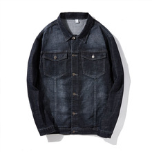 Fashion Men Jean Jacket In The Spring Of 2019 Autumn High Quality Plus Asian Size S-6XL 7XL