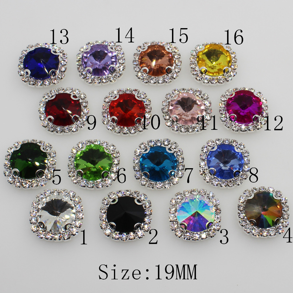 Buy diamante buttons silver and get free shipping on AliExpress.com 787fd71d7e95