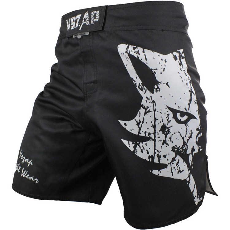 Vszap Pelatihan Pertempuran Kebugaran Olahraga Tempur Celana Tiger Muay Thai Tinju Pakaian