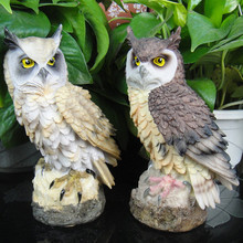 Owl Decoration For Garden And Home Resin Ornaments Crafts Figurines