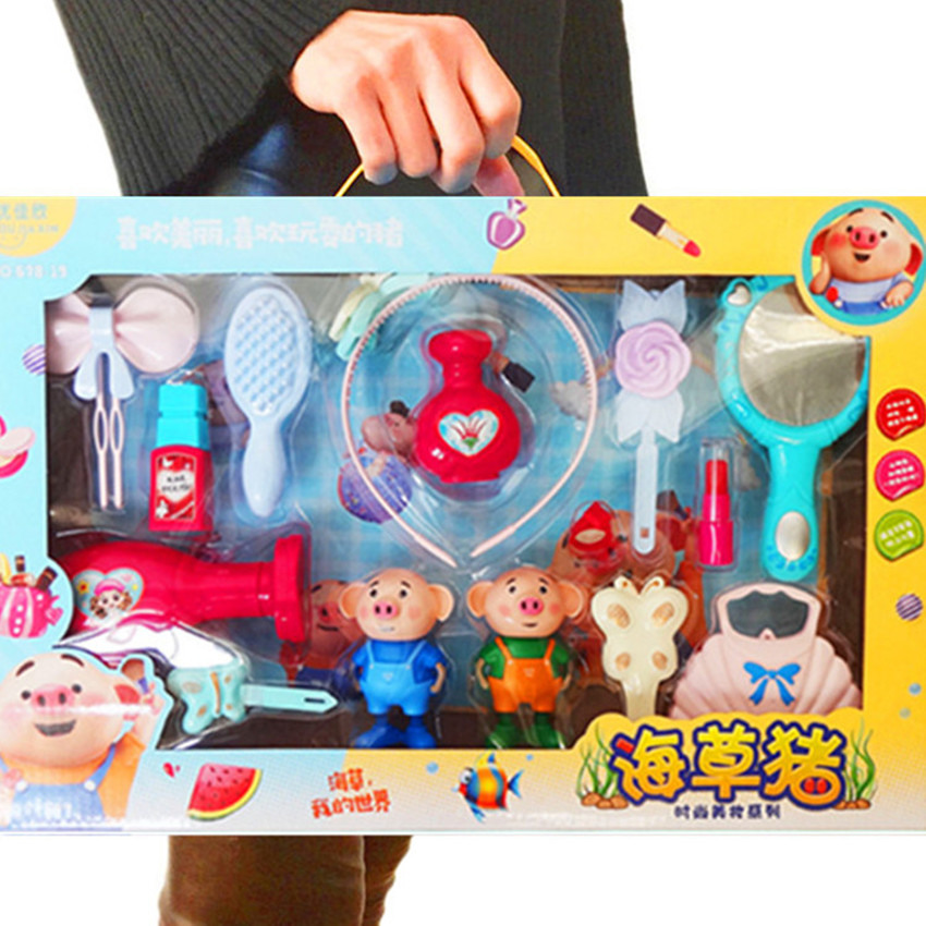 New Pretend Play Girls Cosmetics Kit Toys Funny Game For