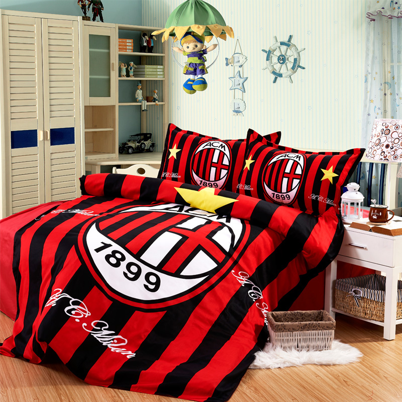 3pcs Sport Bedding Set New Football Bedding Set Cotton