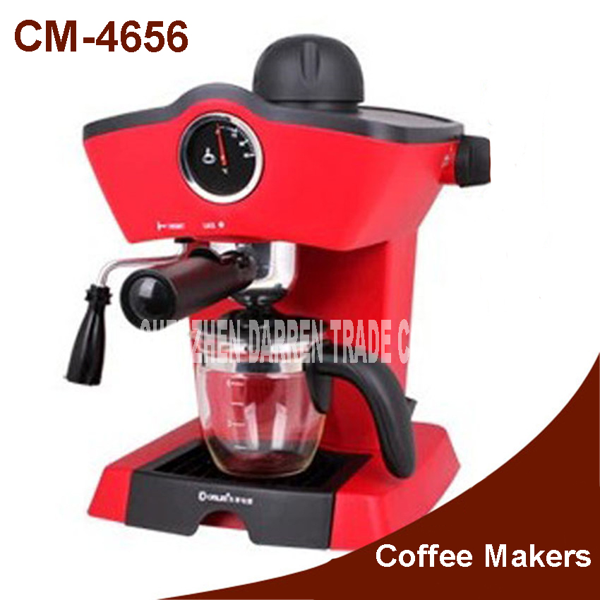 Fashion Steam 240ML Espresso coffee machine Coffee Maker Cafe 700 W Italian Espresso Coffee Machine Automatic Coffee Espresso