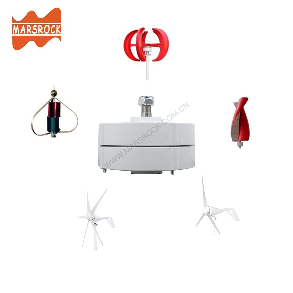 ou horizontal diy ac alternador gerador de turbina eolica 05