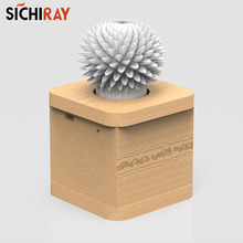 Sichiray Handmade Flower shadow Infrared remote control LED flashing flower rotate speed adjustment Decoration Gifts