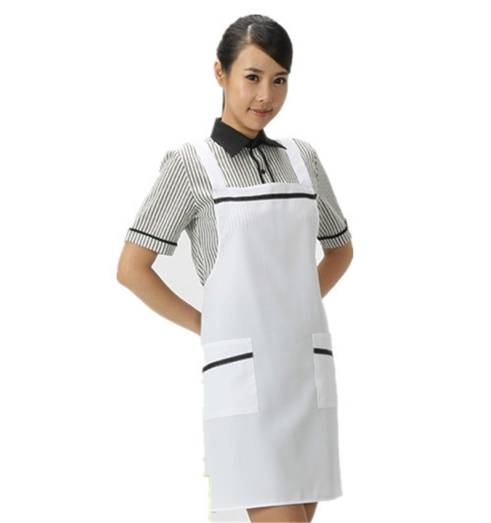 Free Shipping For White Kitchen Accessories Apron Japan