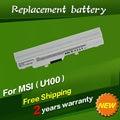 Bateria do portátil bty-s11 bty-s12 para msi x100 x100-g x100-l jigu para msi e1210 wind u100 u90 u200 u210 u230 wind12 branco 6 células
