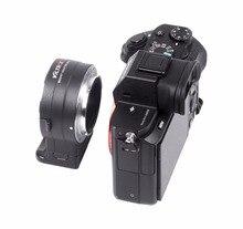 2018 NEW Amopofo NF-E1 Auto focus adapter F-mount lens for Sony E camera Nik F