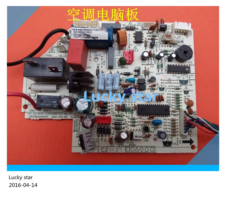 95% new for Air conditioning computer board circuit board KFR-26G/BP2DY-H(3) good working good photos 26g 20