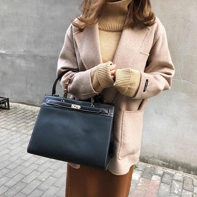 DORANMI Большая вместительная сумочка, роскошная брендовая дизайнерская офисная дамская сумка на плечо 2019, женские большие сумки тоут с пряжкой, сумка-мессенджер DJB363