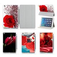 Diy Custom Love Lock Picture For Original Smart Case For IPad Air 2 Cover Premium Leather
