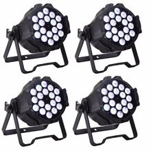 18X10W RGBW 4IN1 LED Par Lights Professional Stage Lighting High Power LED Par Can DMX512 Dj Disco Party Lights Equipments