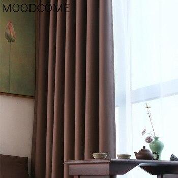 Cortinas para sala de estar comedor dormitorio nuevo europeo puro ...
