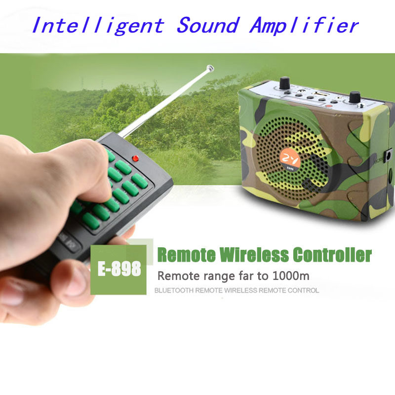 PDDHKK 38W Wireless Hunting Bird Caller Amplifier Electronic MP3 Player Portable Hunting Decoy Loud Speakers Remote Control