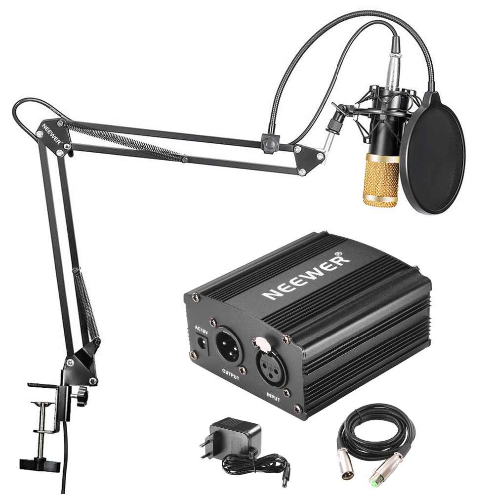 Neewer nw-800 condenser microphone for macbook