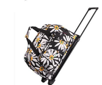 Brand Women luggage Trolley Bag trolley Case travel bag on wheels for women suitcase Travel Duffle Travel Rolling Baggage