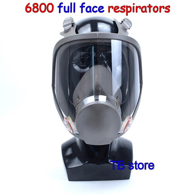 6800 masque À Gaz haute qualité Full face respirateur de Pulvérisation De peinture de protection des pesticides masque Peut coopérer avec 3 M/SJL filtre