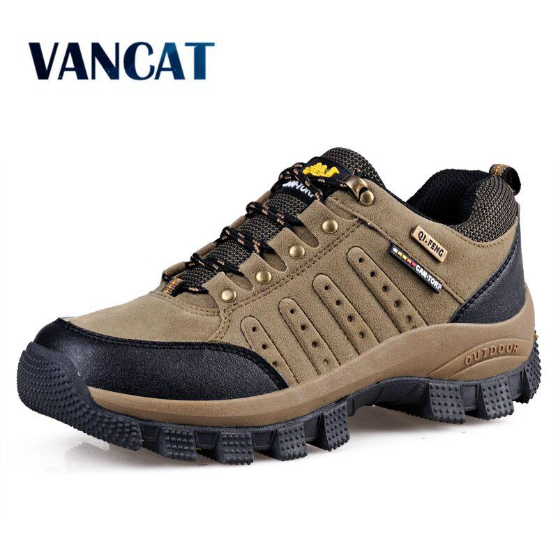 Vancat 2019 New Brand spring Fashion Outdoors sneakers Waterproof Men s shoes Mens Combat Desert Casual Innrech Market.com