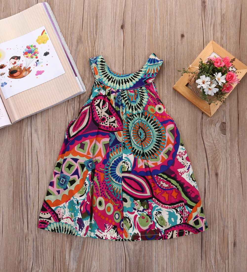 c968da1e4b6 2017 pudcoco Lovely Baby Kids Girls Cute Sleeveless Top Toddler Girl  Princess Flower Floral Party Tutu Summer Floral Casual Top-in Dresses from  Mother ...
