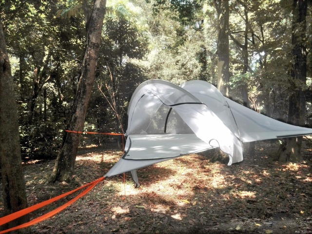 3-4 people Outdoor Tent C&ing Hammock Mosquito Nets Hammock Suspension Tent Vacant Tree Hanging : suspension tents - memphite.com