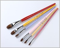 Mixed Weasel Hair paint brushes,economical chinese paint brush Painting Supplies