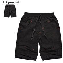 2 8 years summer baby boy font b shorts b font 100 cotton boys casual font