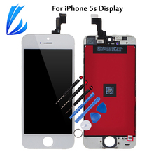 LL TRADER Grade AAA LCD Screen Replacement Part For iPhone 5s Touch LCD Display 5s Pantalla Digitizer Assembly No Dead Pixel