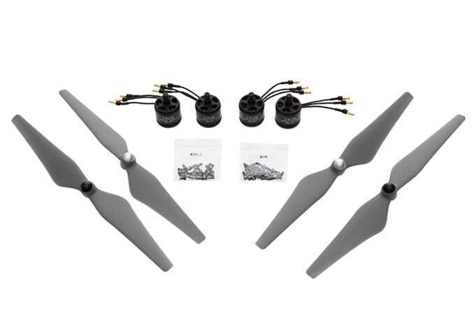 Dji e305 800KV 4s kit with two pairs of props and 4 pcs motor / esc dji accessories 2016 Wholesale recently