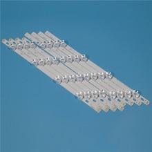 цена на LED TV Backlight Strip For LG 6916L-0884A 40 DRT4.0 REV0 7 A/B-TYPE SVL400 REV.C1 Kit Bars Lamp Array Bands 40LF630V-ZA 40LH5700