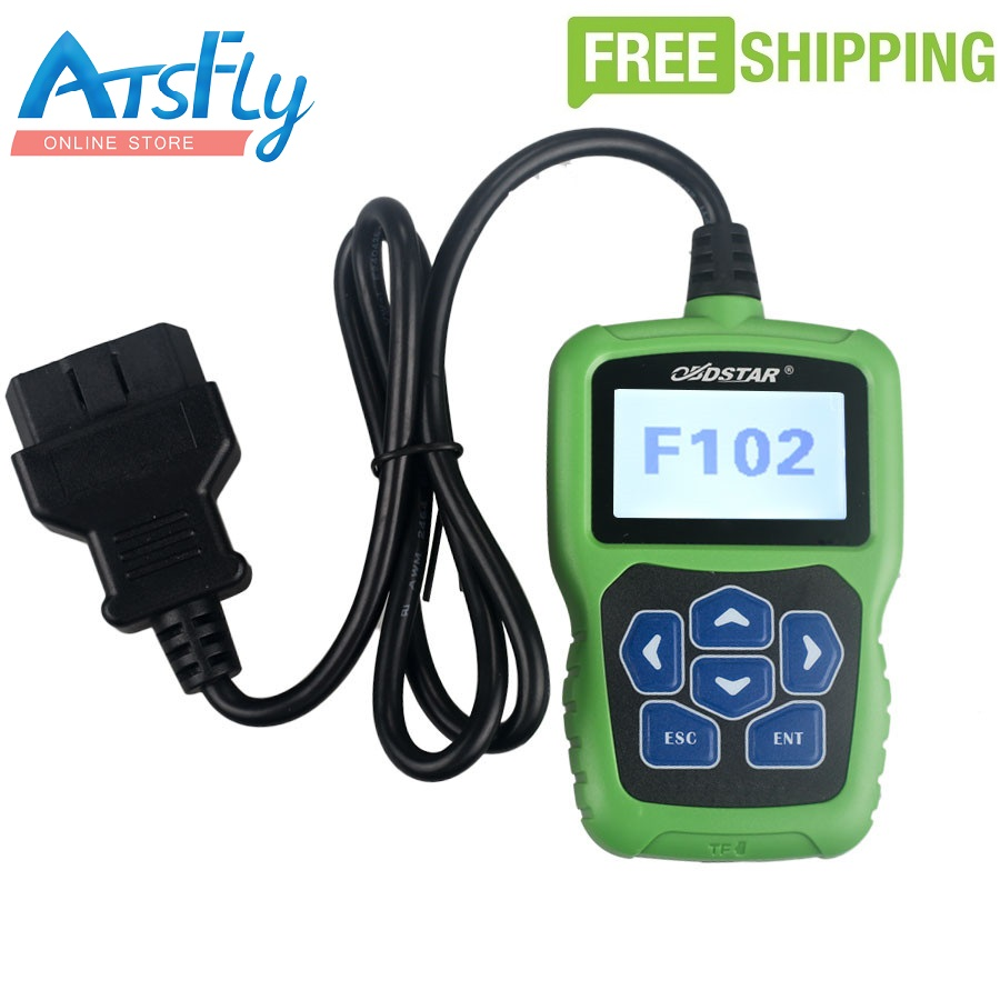 Free shipping OBDSTAR F102 for Nissan/Infiniti Automatic Pin Code Reader with Immobiliser and Odometer Function