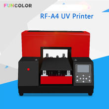 A4 UV Printer Impresora 3D Automatic Printing Machine with Printer Head DX5 Epson R330 for Phone Case, Floats,Acrylic 15*36cm цена и фото
