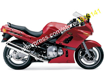 For Kawasaki Ninja ZZR 400 1993-2003 ZZR400 93-03 ZZR-400 Full Red Sports Motorcycle Fairing Kit (Injection molding)